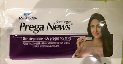 1 * Prega News Pregnancy Test - One Step Urine HCG Pregnancy Test Expiry 04/2020
