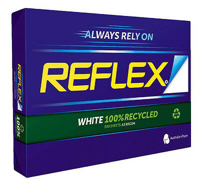 3 X Reflex 100% Recycled A3 80gsm A3 Copy Paper 500 Sheets
