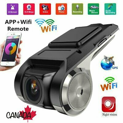 1080P Full HD Car DVR Camera Video Recorder WiFi/GPS/ADAS G-sensor Mini Dash Cam