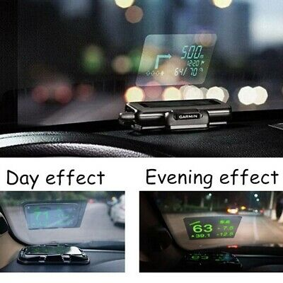 RED SHIELD Universal Head Up Display HUD Reflective Windshield Film 7.5 for All Car Makes and Models Premium Quality High Definition HD Clarity Compatible with All HUD Units and Smartphones.