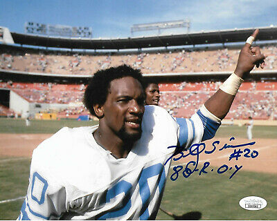 Hot BILLY SIMS DETROIT Lions Autographed Signed 8x10 Photo #2 COA  hot sale