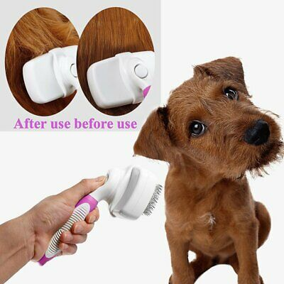 Safe Dog Cat Short-Long Hair Pet Care Tool Pet Grooming Slicker Brush NN