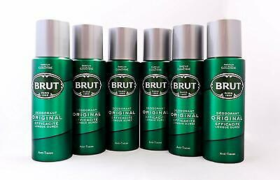 BRUT Original Body Spray Deodorant Bundle 6 x 200ml