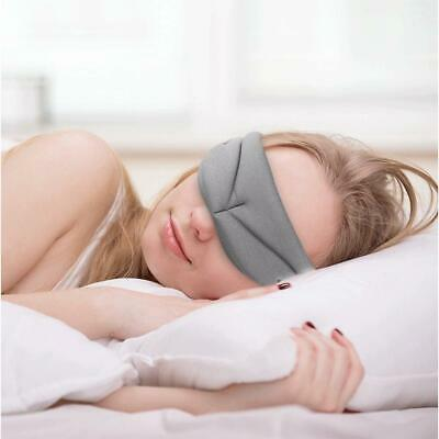 3D Eye Mask Sleep Soft Padded Shade Cover Rest Relax Sleeping Blindfold Travel Y