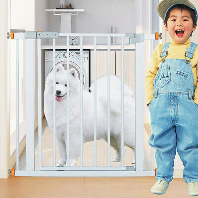 78cm Tall Adjustable Wide Baby Child Pet Safety Security Gate Stair Barrier Door