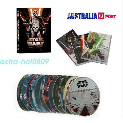 Star Wars 1-8 DVD Full Film Collection Saga I II III IV V VI VII Movie Box Set 2