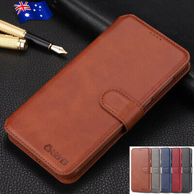 For Samsung Galaxy S10 5G S10+ Note 9/8 Leather Card Slot Flip Wallet Case Cover