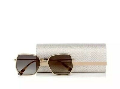 88e1f8fff Jimmy Choo Brand New ALINE/S GOLD/GREY SHADED women AUTHENTIC Sunglasses