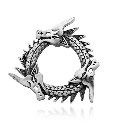 Game of Thrones Brooch Silver Plated Dragon Badge Brooches Lapel Pin for Gift