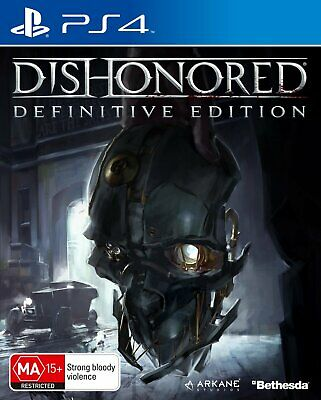Dishonored Definitive Edition -  Sony Playstation 4 Game - Brand  NEW
