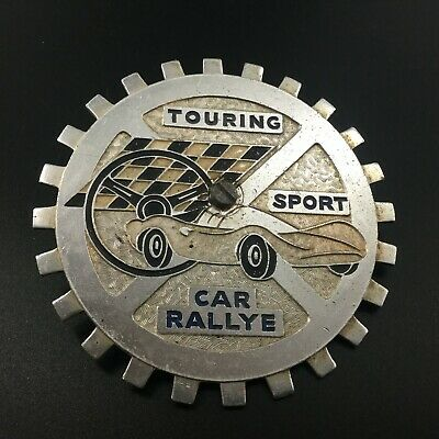 Ancien badge/insigne automobile : Touring Sport Car Rallye