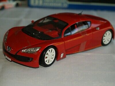 Belle Peugeot RC, concept car, Solido, 1/18