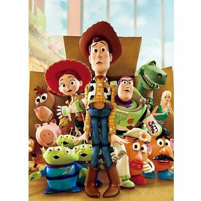 Toy Story Full Drilled 5D Diamond Painting Embroidery Cross Stitch Art Kits QC