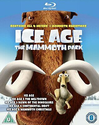 Ice Age 14 plus Mammoth Christmas The Mammoth Collection  [Bluray] [2002] [DVD]