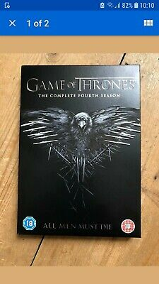WATCHED ONCE - Game of Thrones - Complete Season 4 DVD box set (Region 2 - UK)