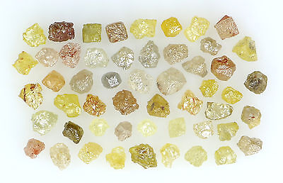 Natural Loose Diamonds Mix Fancy Color Rough I3 Clarity 2.00 Ct Lot NQ27
