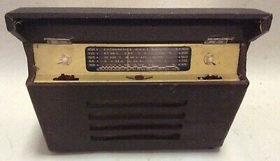 Vintage Rare Early Tasma Tube Radio