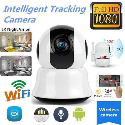 HD 1080P Wireless Wifi iP Network Security Camera CCTV Night Vision Cam Pan Tilt