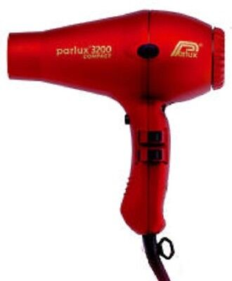 Parlux 3200 Professional Hairdryer Red New Next Day Delivery