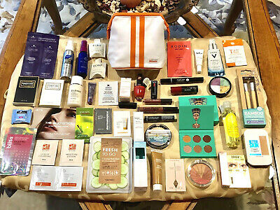a8a3810ad48 DELUXE SAMPLE LOT Cosmetic Skincare Sephora Clinique Make Up Forever ...