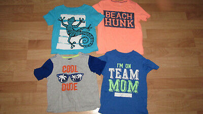 Lot Boys T-Shirts Sz. 4T Crazy 8 Children Place Carter's Circo !!