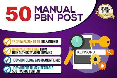 High Authority SEO Backlink Package