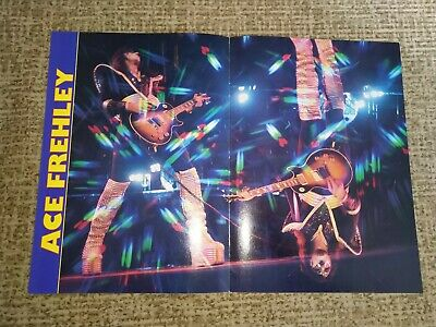 KISS POSTER DOUBLE SIDED  A3 size, not used-like new