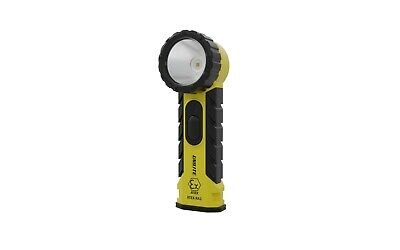 Unilite ATEX-RA2 Intrinsically Safe LED Right Angle Flashlight Torch 350 Lumens