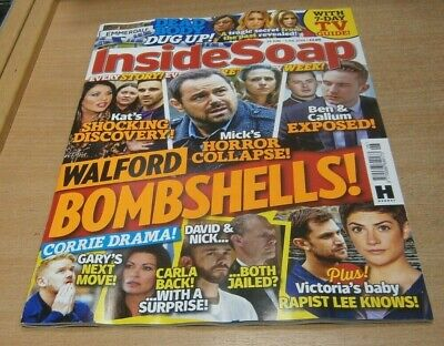 Inside Soap magazine 29 JUN - 5 JUL 2019 Walford Bombshells, Corrie Drama & more