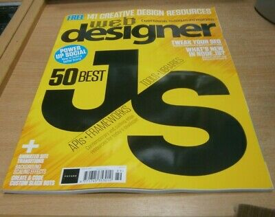 Web Designer magazine #289 2019 Best Javascript Apis, Frameworks, Tools&Librarie