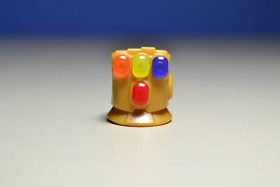 Lego Infinity War Infinity Gauntlet With 4 Stones Gems Yellow Red Orange Purple