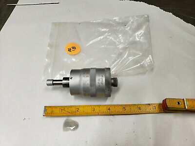 """Tested! Mitutoyo 148-351 0 to 0.25/"""" Range 0.001/"""" Flat Face Micrometer Head"""