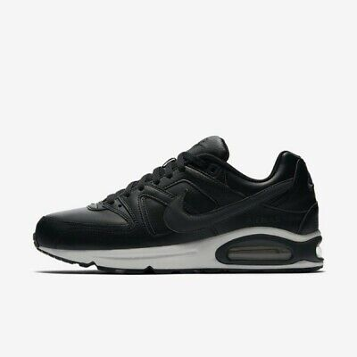 """Top Nike Air Max Command Leather Eur 45 """"Black Anthracite"""" 749760 001 *New*Neu*"""
