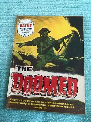 BATTLE PICTURE LIBRARY # 158 The Doomed - 1961
