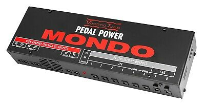 Voodoo Lab Pedal Power Mondo Isolated Pedal Power Supply 9V 12V with Sag