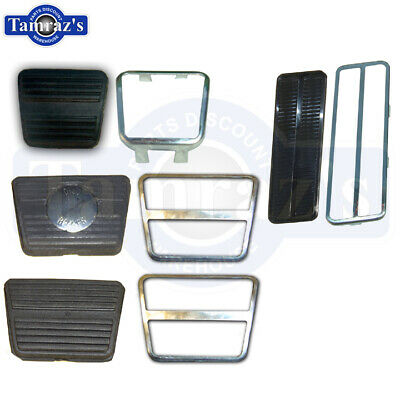 The Parts Place GM A Body Clutch Brake Pedal Stainless Trim