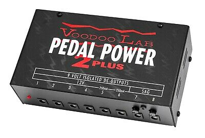 Voodoo Lab Pedal Power 2 Plus Isolated Pedal Power Supply 9V 12V with SAG