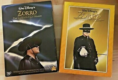 Walt Disney's Zorro: The Complete First & Second Seasons (10 DVDs) Colorized 1 2