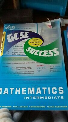GCSE Maths Intermediate Success Guide by Letts Educational (Paperback, 2001)