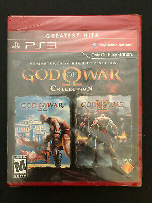 God of War Collection 1 + 2 Greatest Hits (Sony Playstation 3, PS3) SEALED