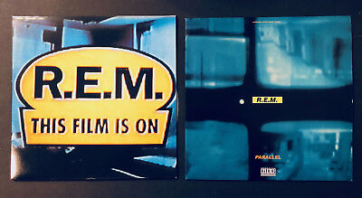 2 REM Laserdiscs - Parallel and This Film is On - FREE SHIPPING