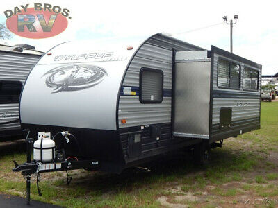 20 Forest River Cherokee Wolf Pup 18TO RV Camper Towable Travel Trailer Slide