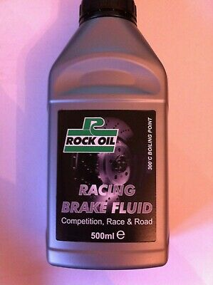 ROCK OIL 300 DEGREE RACING BRAKE & CLUTCH FLUID 500 ML - competition & fast road