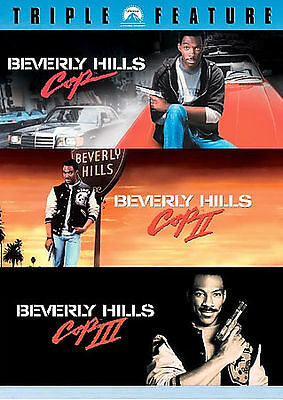 Beverly Hills Cop Triple Feature -3 Disc Dvd Set- Eddie Murphy -Save on Shipping