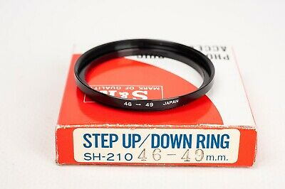 S&K Stepping ring- Step up 46-49mm