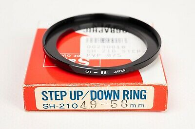 S&K Stepping ring- Step up 49-58mm