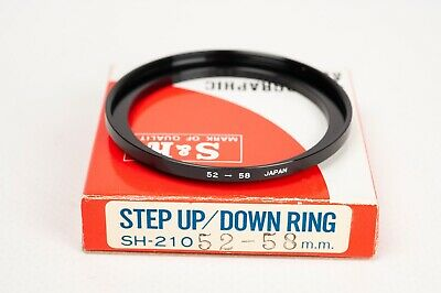 S&K Stepping ring- Step up 52-58mm