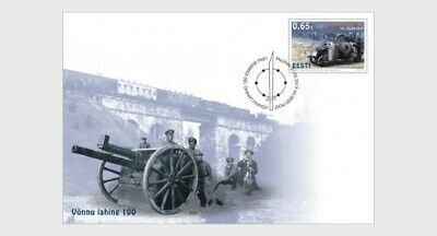 H01 Estonia 2019 Battle Of Vonnu 100 FDC