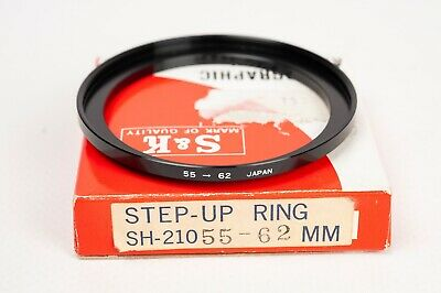 S&K Stepping ring- Step up 55-62mm