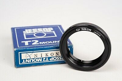 T mount adapter ring for T2-mount to Nikon -Jessop- made in Japan